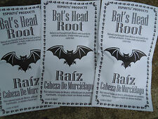Bats Head rootTalisman Spell Supplies Spells charm bag luck herb Protection mojo