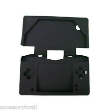 Black Silicon Soft Case Skin Cover Pouch Sleeve for Nintendo DSi NDSi