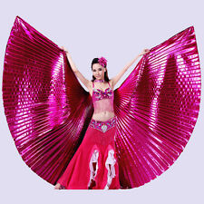 New Professional Egyptian Belly Dance Costumes Clothing Isis Wings 12 Colors UK