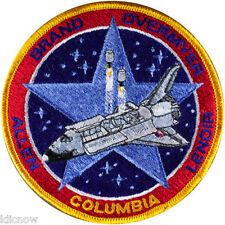 Columbia 5 Mission Embroidered Patch (Official NASA Patch) 10cm Dia approx