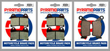 BMW F 800 R 09-14 Front & Rear Brake Pads Full Set (3 Pairs)