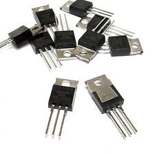 10x BUK456-100A / BUK 456 N-Kanal Power MOSFET, 100V / 34A, TO220, NOS