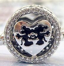 MICK AND MINN w SPARKLE  .925 Sterling Silver European Charm Bead