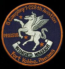 US Army B Co 1-228th Aviation Fort Kobbe Panama Patch CIRCLE