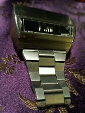 Rare Running SEE VIDEO Swissonic Jaz Derby Watch With Original Bracelet vintage