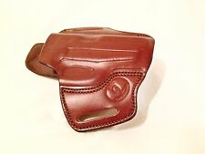 Handmade Brown Leather Gun Holster Sig Sauer P239 OWB Outside Waist Band USA