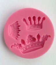 3 Corona Tiara Princesa Boda Silicona Molde De Pastel con azúcar Artesanales De Chocolate