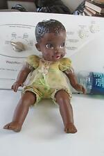 "DISNEY 12""Black/African American TODDLER DOLL In jumper- Tollytots"