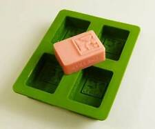 Love At First Sight - 4 Cell Silicone Soap Mould Mold Melt and Pour Cold Process