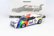 BMW M1 Procar (E26) #72 24h LeMans 1981 Rousselot, Servanin, Ferrier 1:18 Minich