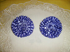 """FREE SHIPPING! Set/2 Purple Shoe Clips Great Gift NEW Big Sale! DELUXE 2-3/ 4"""""""