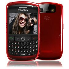 iSkin Vibes  for BlackBerry Curve 8900 Blaze Red