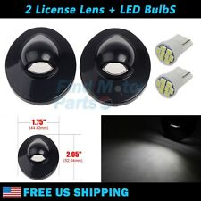 2x Step Bumper License Plate Light White LED for Ford F250 F350 F450 Super Duty