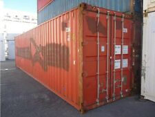 ***Used*** 40ft HC Shipping Container, B Grade, Weather Proof, ex Shipping Lease