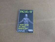 ICE - T I AIN'T NEW TA THIS FACTORY SEALED CASSETTE SINGLE