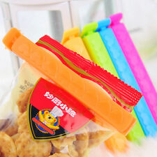 Portable Home Supplies Sealing Clips Plastic Bags Food Storage 5 pcs Snack Clips