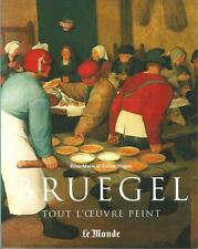 BRUEGEL TOUT L'OEUVRE PEINT - R. HAGEN - LE MUSEE DU MONDE  SERIE 6 - LE MONDE