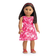 "American Girl TM RED HEARTS RUFFLE OUTFIT for 18"" Dolls Clothes Dress NEW"