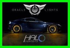 AMBER LED Wheel Lights Rim Lights Rings by ORACLE (Set of 4) for FORD F150 F250
