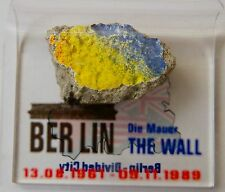 Authentic Piece of The Berlin Wall with Display