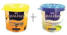 Combo of My Shaldan Car/Home Gel Based Air Freshener 160g - Lemon & Squash