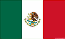 """MEXICO 18"""" x 12"""" FLAG suitable for Boats Caravans Treehouses flags MEXICAN"""