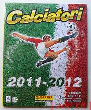 ALBUM CALCIATORI PANINI 2011-12 vuoto versione omaggio con figurine e cedole