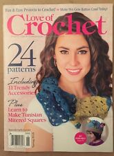 Love Crochet Patterns Trendy Accessories Projects Spring 2015 FREE SHIPPING!