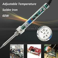 60W Adjustable Electric Temperature Internal Heat Welding Solder Soldering Iron