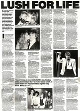 6/7/91 Pgn18/19/20 Article & Picture lush For Life Rod Stewart On His 27 Fun Yea