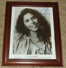 VANITY / Denise Matthews 1988 * PERSONALLY AUTOGRAPHED FRAMED PHOTOGRAPH