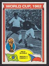 Topps - Footballers (Orange Back) 1978 - # 343 World Cup 1962