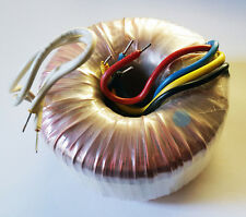 Power Toroidal Transformer + Mount HW, 110VAC to  2 x 24VAC at 3 Amps (28E107)