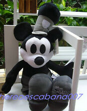 New Disney Mickey Mouse 1928 Black&White Collectible PLUSH TOY Big Size Lovely