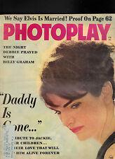 Photoplay Magazine Jackie Kennedy Elvis Presley Billy Graham  February1964