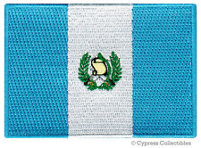 GUATEMALA FLAG embroidered iron-on PATCH CENTRAL AMERICAN EMBLEM souvenir