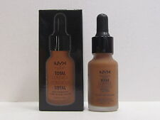 NYX Total Control Drop Foundation color TCDF20 Deep Rich 0.43 oz New In Box
