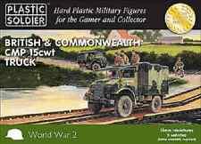 15MM BRITISH CMP 15 CWT TRUCKS - PLASTIC SOLDIER COMPANY - WW2- PRE ORDER
