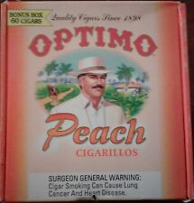 OPTIMO CIGARS EMPTY BOX for collection