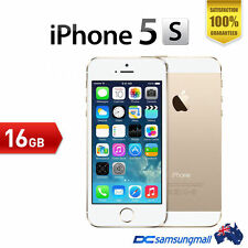 Apple iPhone 5S-16GB Gold USED unlocked Excellent condition Smartphone