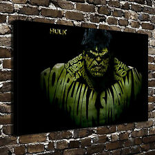 Marvel The Hulk Paintings HD Print on Canvas Home Decor Wall Art Picture Poster