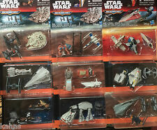 COMPLETE SET OF 9 STAR WARS Force Awakens MICRO MACHINES WAVE 1 - 27 Total figs!
