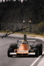 Vern Schuppan SIGNED Ensign-Cosworth N174 , Swedish GP Anderstorp 1974
