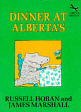 Dinner at Alberta's (Red Fox beginners),Russell Hoban,New Book mon0000005447