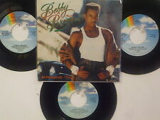 LOT OF 4 ' BOBBY BROWN ' HIT 45's+1PS        THE 80's!