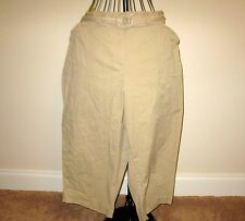 Beautiful Beige Capri Pants by White Stag Size 20W Nice! #D336