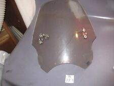 Motorcycle  Windshield with Mounting Brackets~Memphis Shades~20""