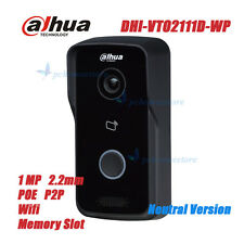 Dahua DHI-VTO2111D-WP POE P2P 1MP Wi-Fi Villa Video Intercom Outdoor Station