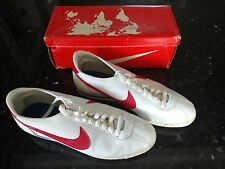 Nike Cortez Leather 1982 Vintage Forrest Gump Running Shoes 13.5 **MINT**