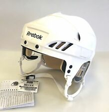New Reebok 4K NHL/AHL Pro Stock/Return helmet medium M size ice hockey white